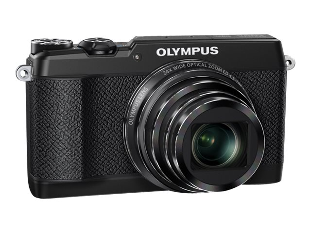Olympus Stylus SH-2 Digital Camera, 16MP, 24x Zoom, Black, V107090BU000