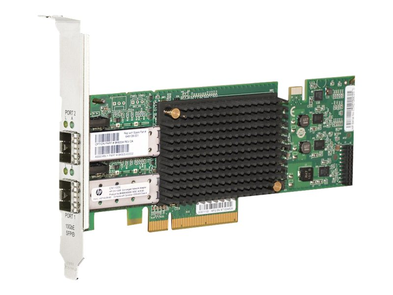 HPE CN1100E Dual Port Converged Network Adapter, BK835A
