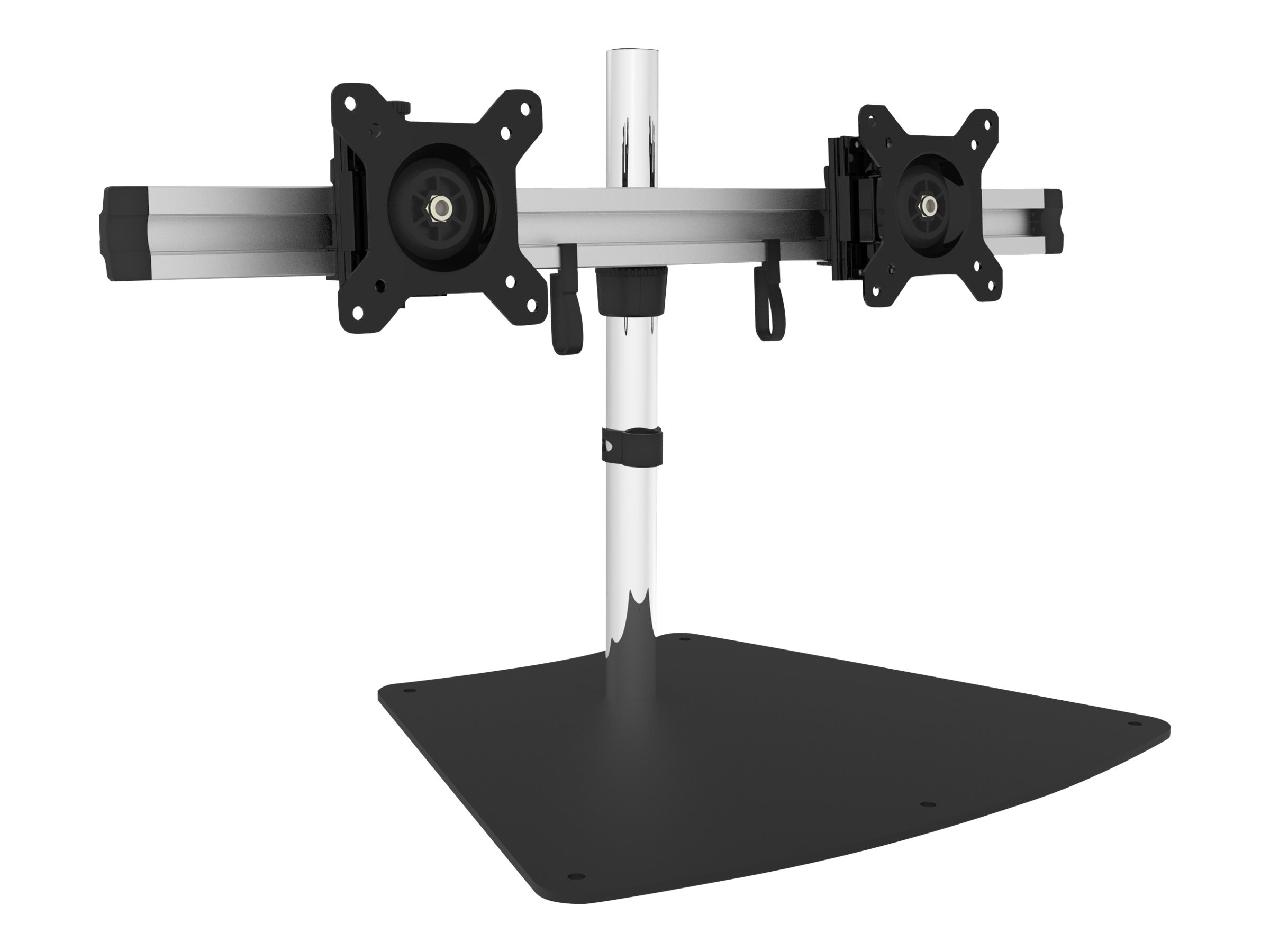 Siig Dual Monitor Desk Stand for 13-27 Displays, CE-MT2011-S1
