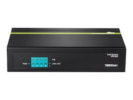 TRENDnet 5 Port 10 100 Mbs PoE Switch, TPE-S50, 30878703, Network Switches