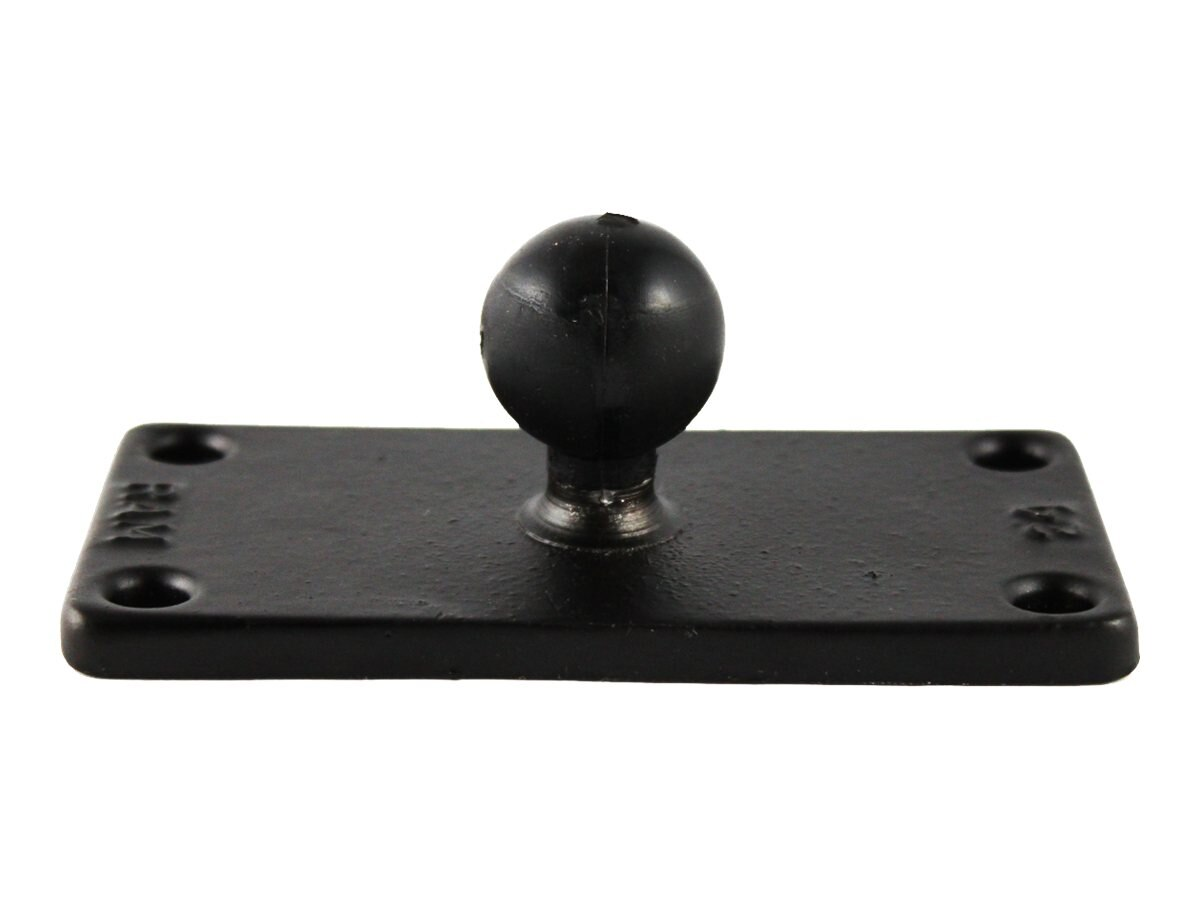 Ram Mounts 1 Ball Base and Rectangular Plate with 1.5 x 3.5 4-Hole Pattern