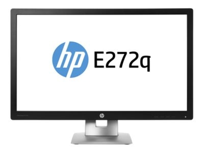 HP 27 E272q Quad HD IPS LED Monitor, Black, M1P04A8#ABA