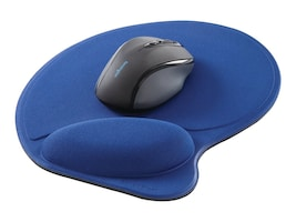 Kensington Wrist Pillow Mouse Pad with Wrist Rest, Blue, L57803USF, 15989211, Ergonomic Products