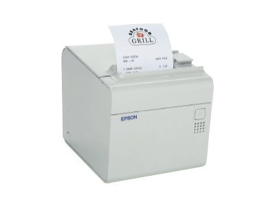 Epson TM-T90 E02 ECW Printer w  PS-180 Power Supply, C31C390A8941, 14677240, Printers - POS Receipt