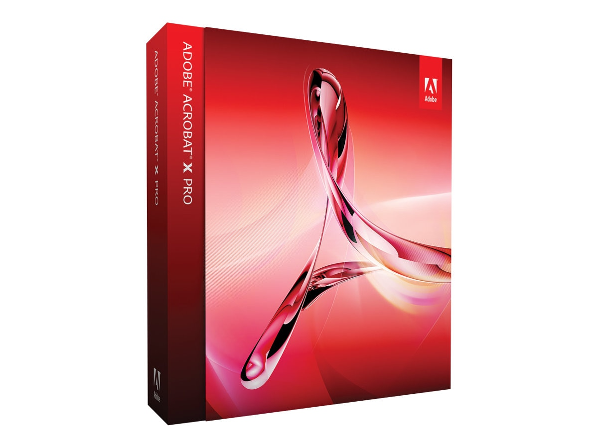 Adobe Govt. GovEA ESD Acrobat Professional 10.0 Win Doc and Media 0PTS