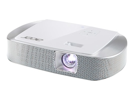Acer K137i Wireless-Ready DLP Portable Projector, 700 Lumens, White, MR.JKX11.006, 18385501, Projectors