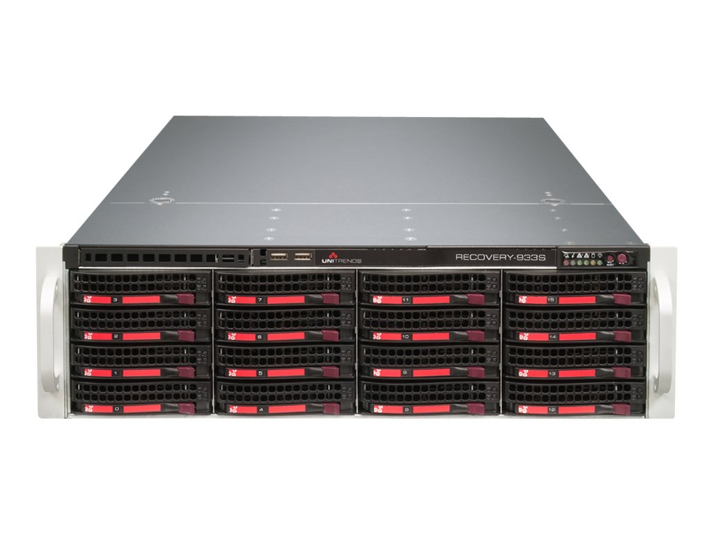 Unitrends Recovery-936S Appliance & Support Bundle, 3 Year, RC936S-3, 18493763, Disk-Based Backup