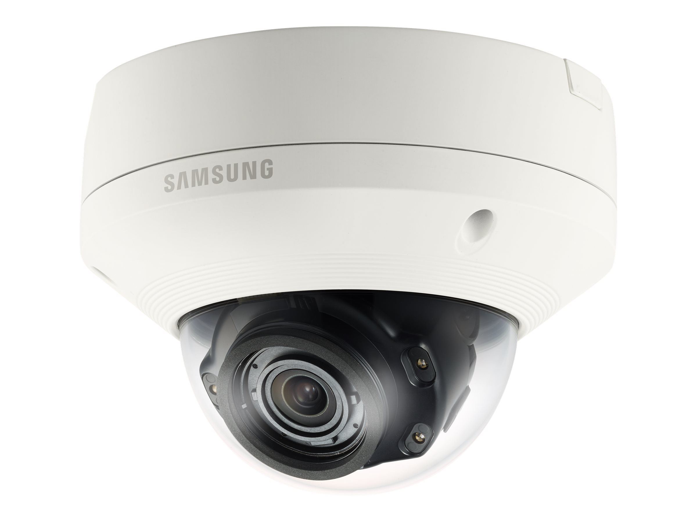 Samsung 5MP Vandal-Resistant Network IR Dome Camera, White