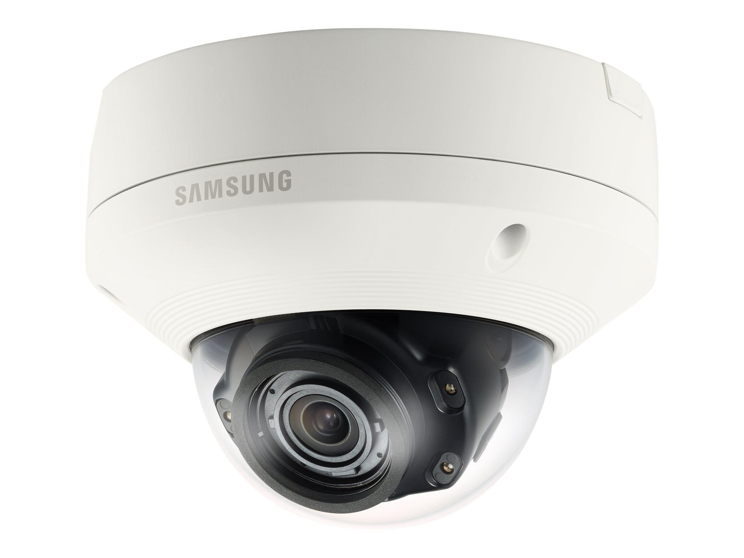 Samsung 5MP Vandal-Resistant Network IR Dome Camera, White
