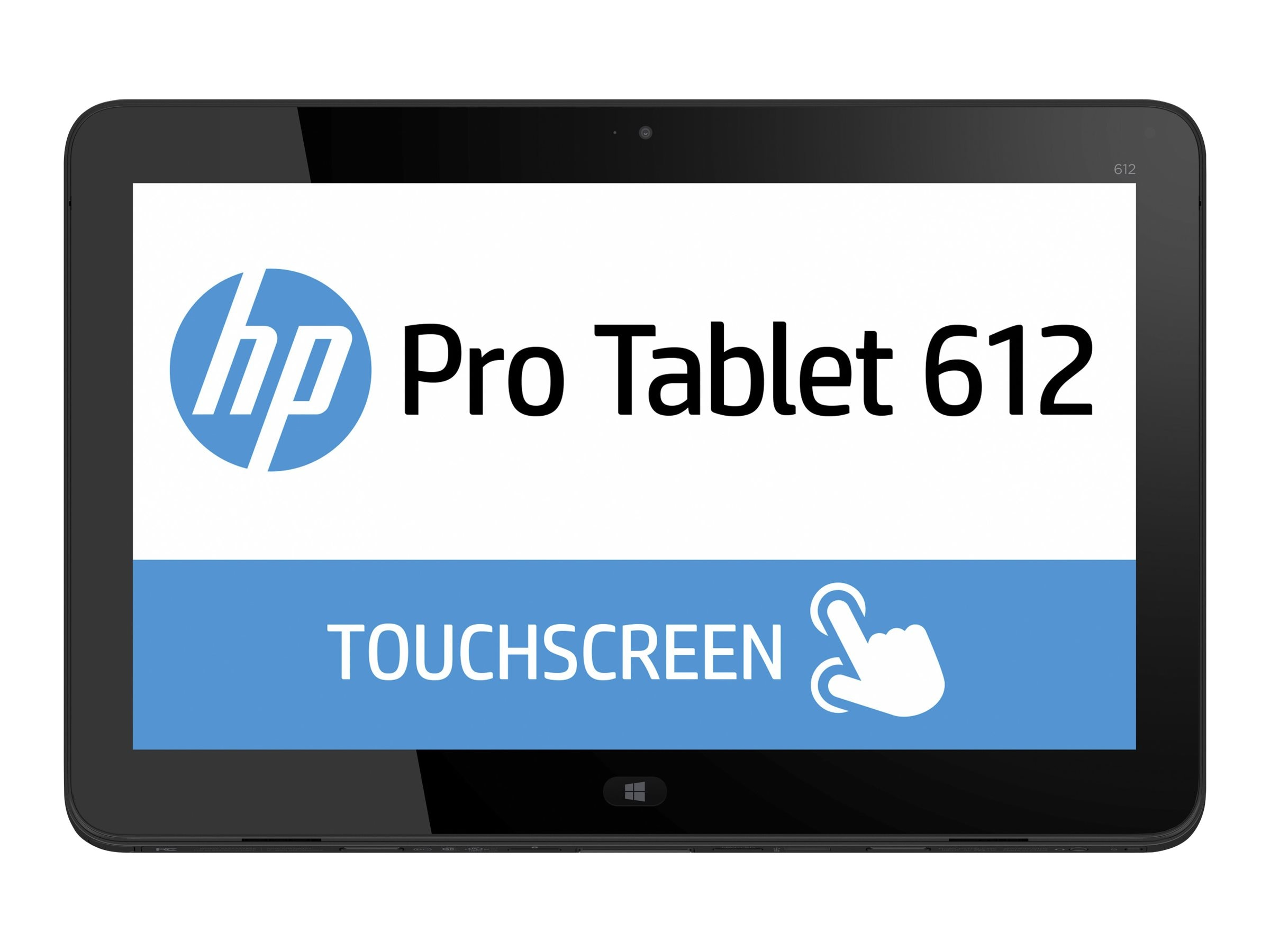 HP Pro 612 x2 G1 1.6GHz processor Windows 10 Pro 64-bit Edition, P3E18UT#ABA