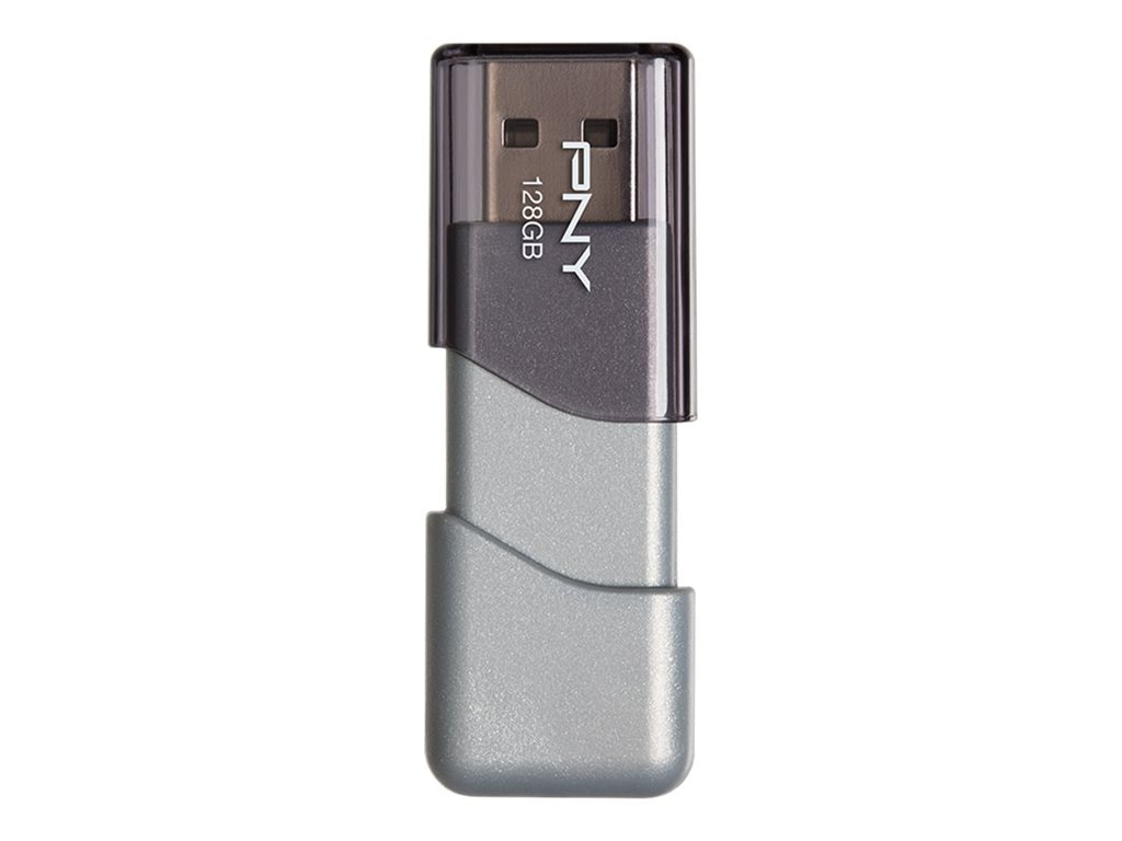 PNY 128GB Turbo USB 3.0 Flash Drive, P-FD128TBOP-GE
