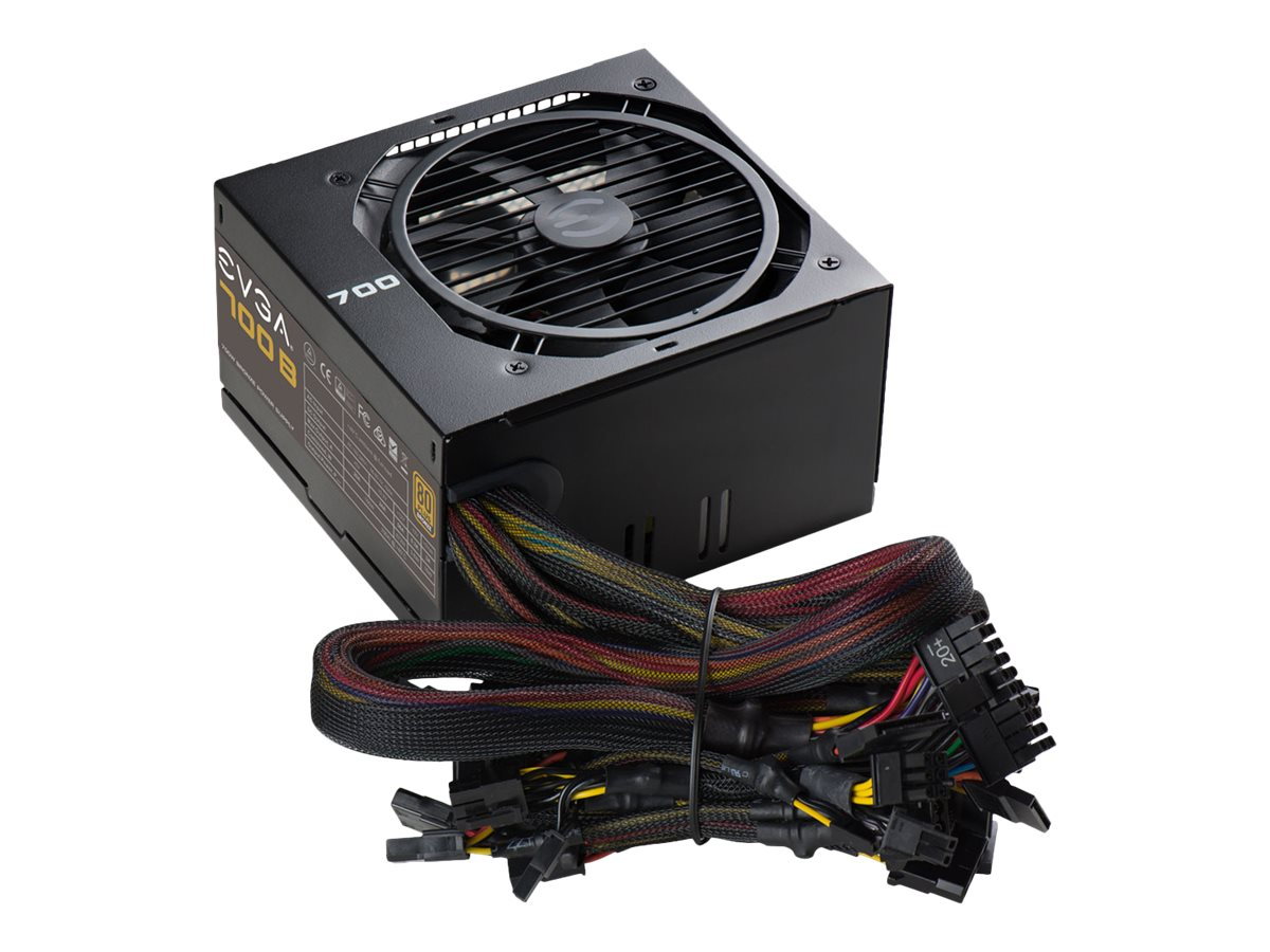 eVGA 700W Bronze 80 Plus PSU, 100-B1-0700-K1