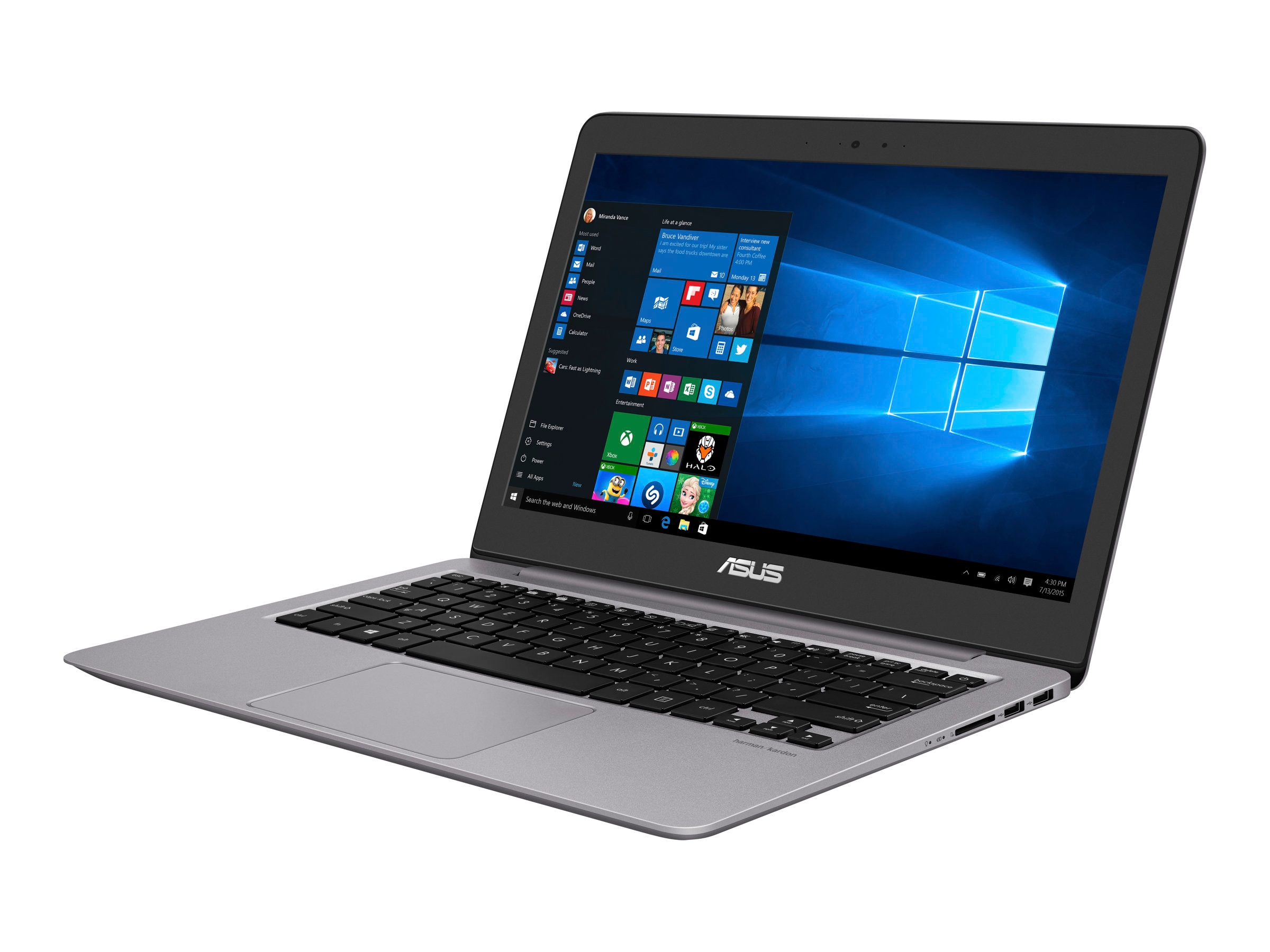 Asus Notebook PC Core i5-6198DU 8GB 1TB 15.6 W10