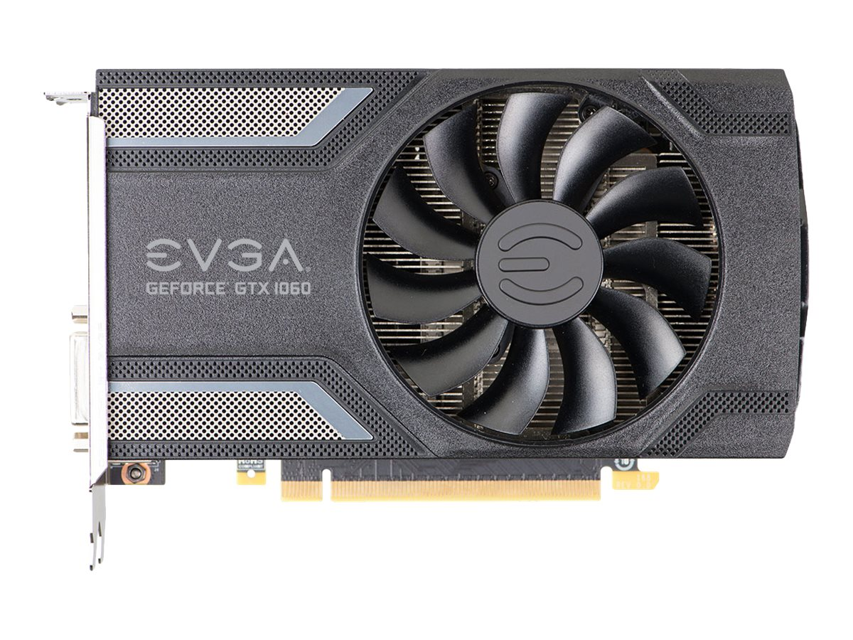 eVGA GeForce GTX 1060 PCIe 3.0 x16 Superclocked Graphics Card, 6GB GDDR5, 06G-P4-6163-KR