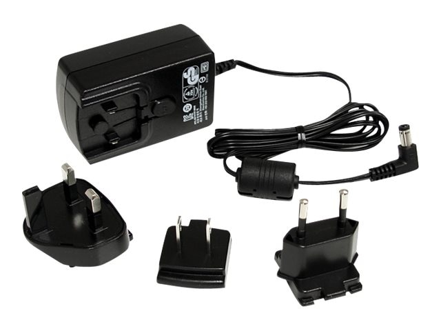 StarTech.com Universal Power Adapter 12VDC 1.5A Output 4.5ft Cable, IM12D1500P