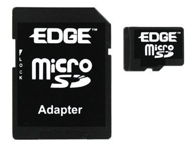 Edge 1GB Micro Secure Digital Card with Adapter, PE214470