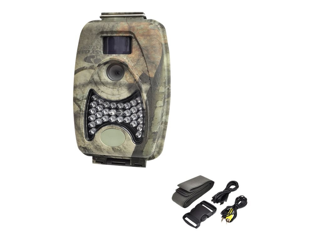 Pyle Water Resistant Wild Game Trail Scouting Camera with Infrared Night Vision
