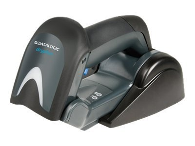 Datalogic Gryphon I GBT4130, Kit, USB, Black, Includes Scanner, Base Charger BC4030-BK-BT, Cable 90A051945