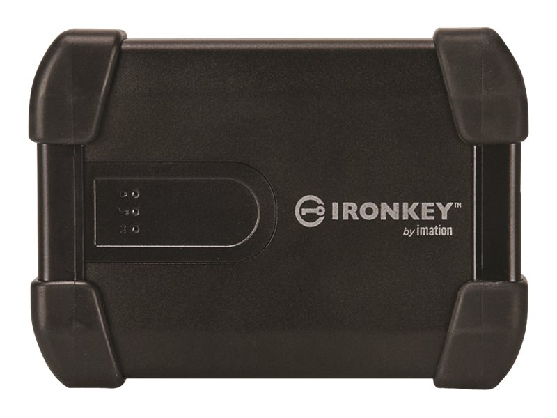 IronKey 500GB IronKey Enterprise H300 Encrypted USB 3.0 2.5 External Hard Drive, MXKB1B500G5001-E, 17924605, Hard Drives - External