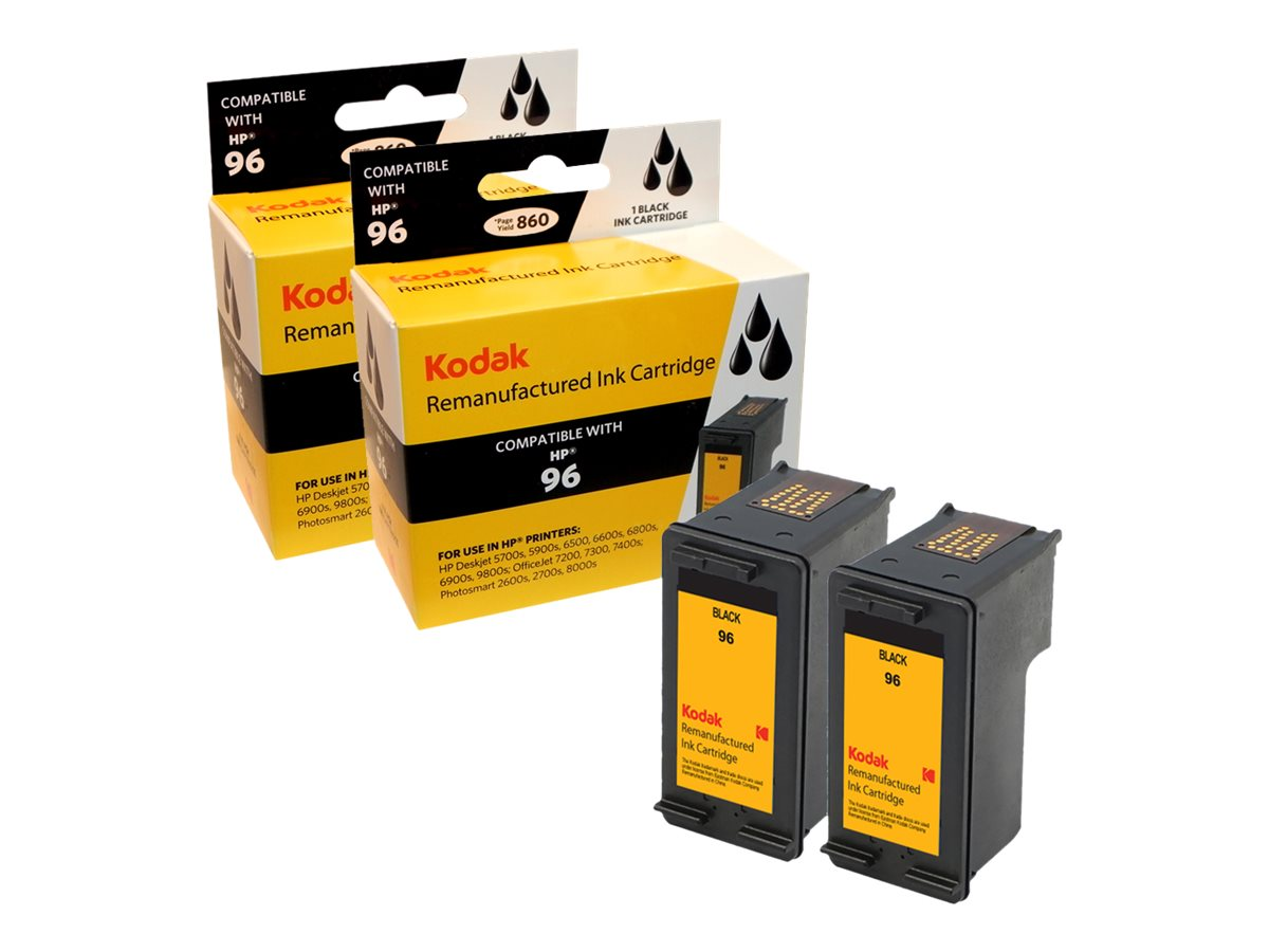 Kodak C9348FN Black Ink Cartridge Combo Pack for HP, C9348FN-KD