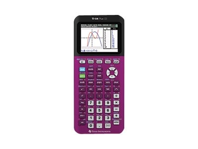 TI TI84 Plus CE Calculator - Plum, 84PLCE/TBL/1L1/F, 18461825, Calculators