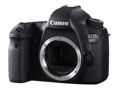 Canon EOS 6D Digital SLR Camera, 20.2MP (Body Only)