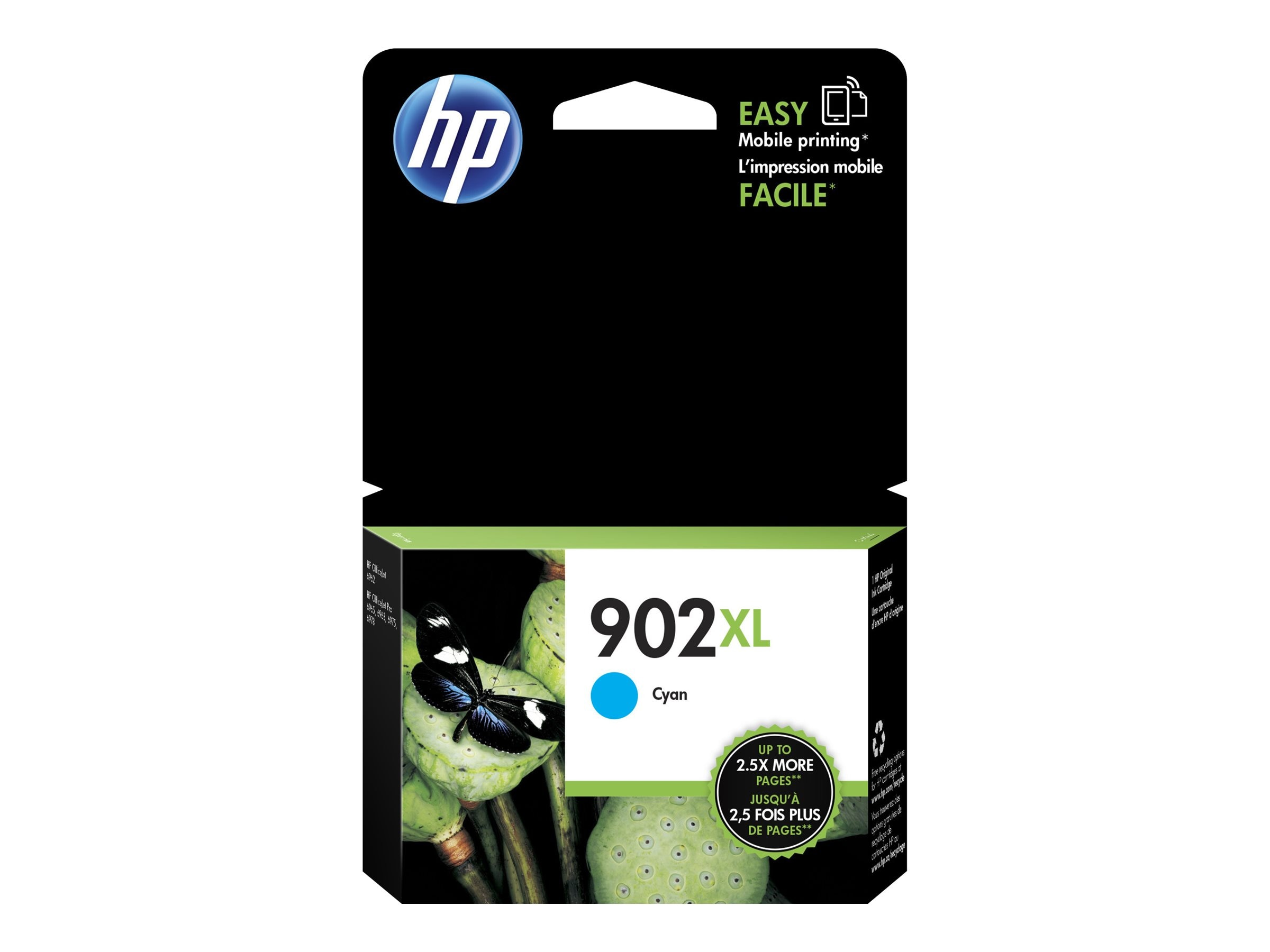 HP 902XL (T6M02AN) High Yield Cyan Original Ink Cartridge