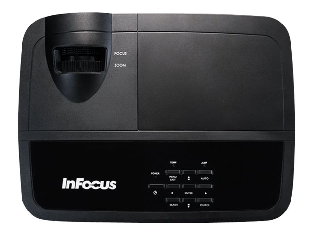 InFocus IN2124X XGA 3D DLP Projector, 4200 Lumens, Black, IN2124X