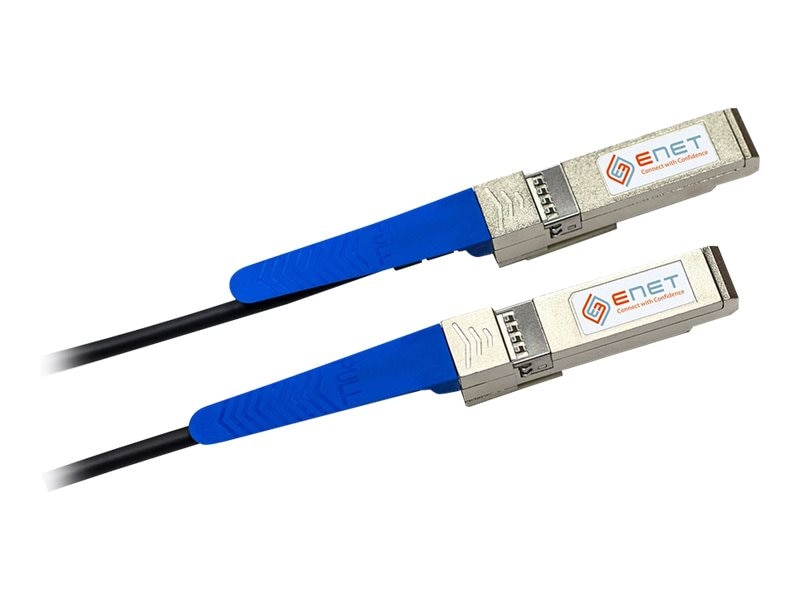 Dell to Fortinet Compatible 10GBASE-CU SFP+ Passive Direct-Attach Cable, 1m, SFC2-DEFO-1M-ENC