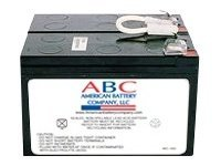 American Battery Replacement Battery Cartridge RBC5 for APC SU450, SU600 and SU700 models, RBC5, 462083, Batteries - Other