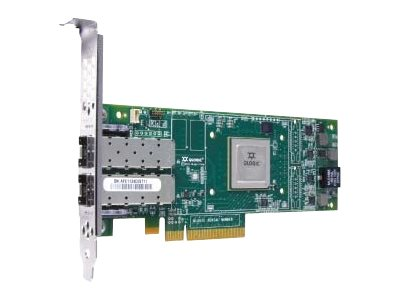 Dell QLogic 2662 Dual-Port 16Gb Fibre Channel Low-Profile HBA, 406-BBBH, 30935237, Host Bus Adapters (HBAs)