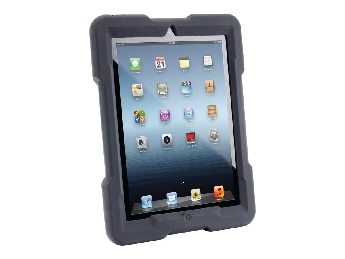 Kensington BlackBelt 3rd Degree Rugged Case for iPad 4th, 3rd Gen, iPad 2, K67818WW, 16753736, Carrying Cases - Tablets & eReaders