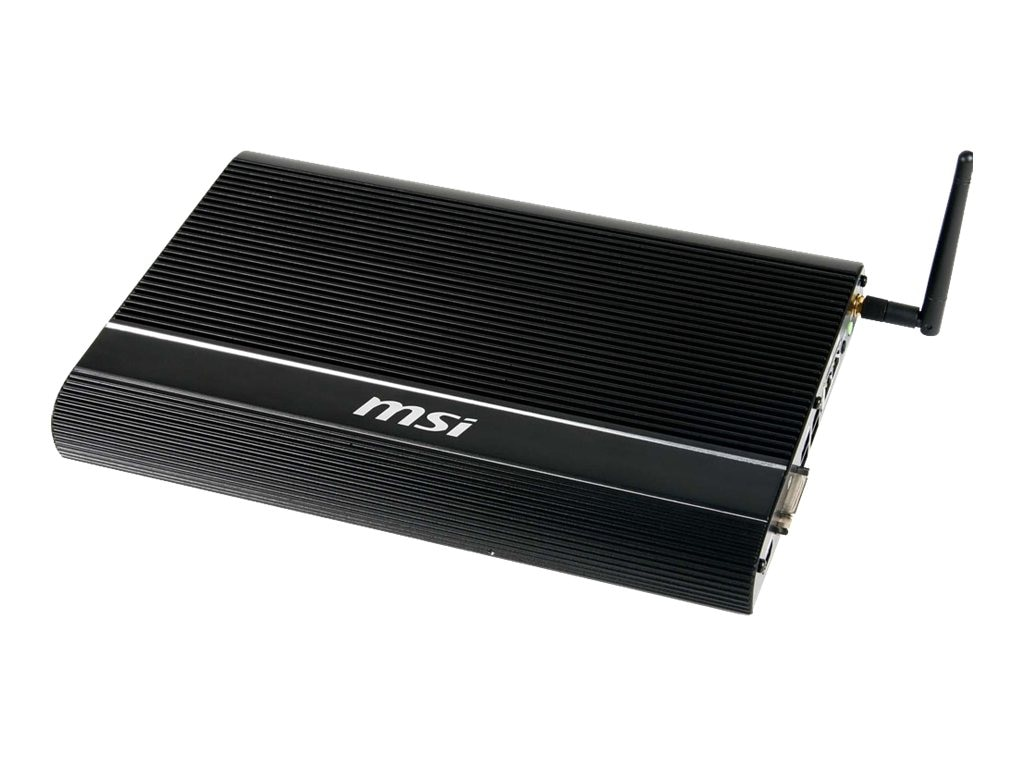MSI Barebones, Windbox III Plus Core i5-3337M 2GB 320GB USB 3.0 Fanless, 9S9-9A55-010, 17467408, Barebones Systems