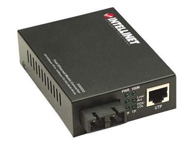 Intellinet Ethernet Media Coverter SC, 506502, 16827053, Network Transceivers