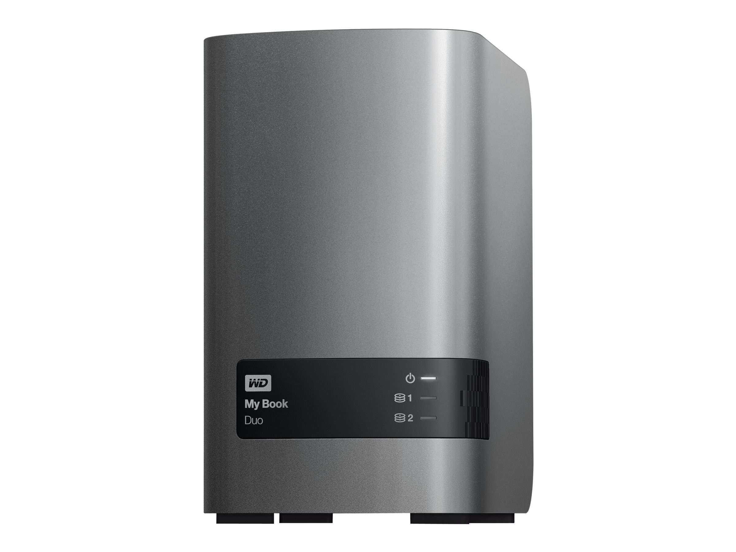 WD 6TB My Book Duo RAID Storage, WDBLWE0060JCH-NESN, 17380732, Hard Drives - External