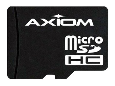 Axiom 8GB Micro SDHC Flash Memory Card, Class 6, MSDHC6/8GB-AX, 15154774, Memory - Flash