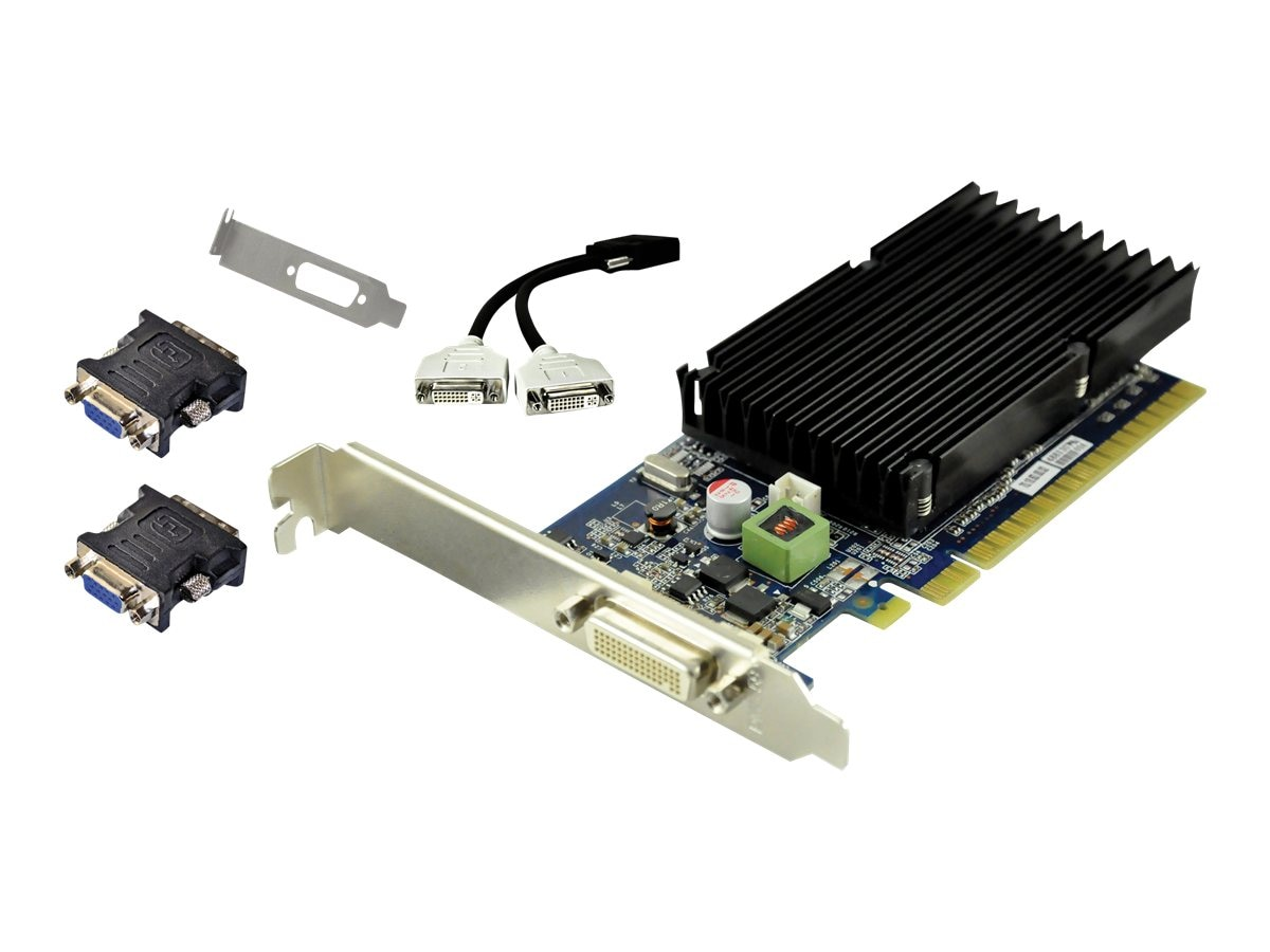 PNY GeForce 8400GS PCIe x16 Graphics Card, 1GB GDDR3, VCG84DMS1D3SXPB-CG