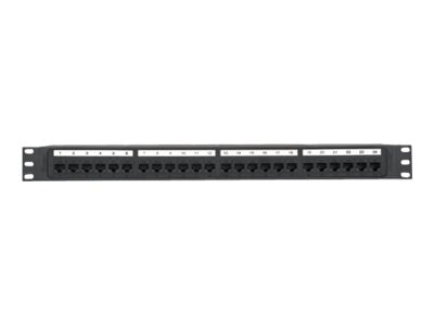 Panduit 24-Port Cat6 Molded Punchdown Patch Panel, NK6PP24P