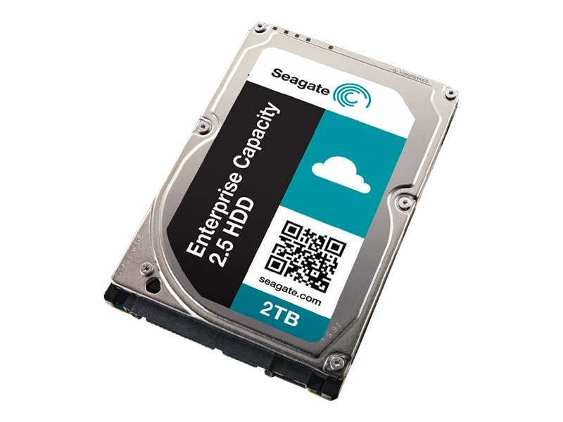 Seagate 2TB Enterprise Capacity SAS 12Gb s 5xx Emulation 2.5 15mm Z-Height Nearline Hard Drive