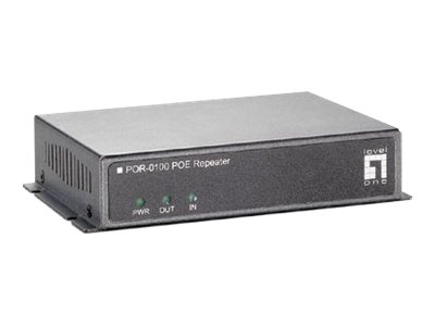 CP Technologies Level One POR-0100 PoE Repeater, POR-0100, 15198726, Network Repeaters