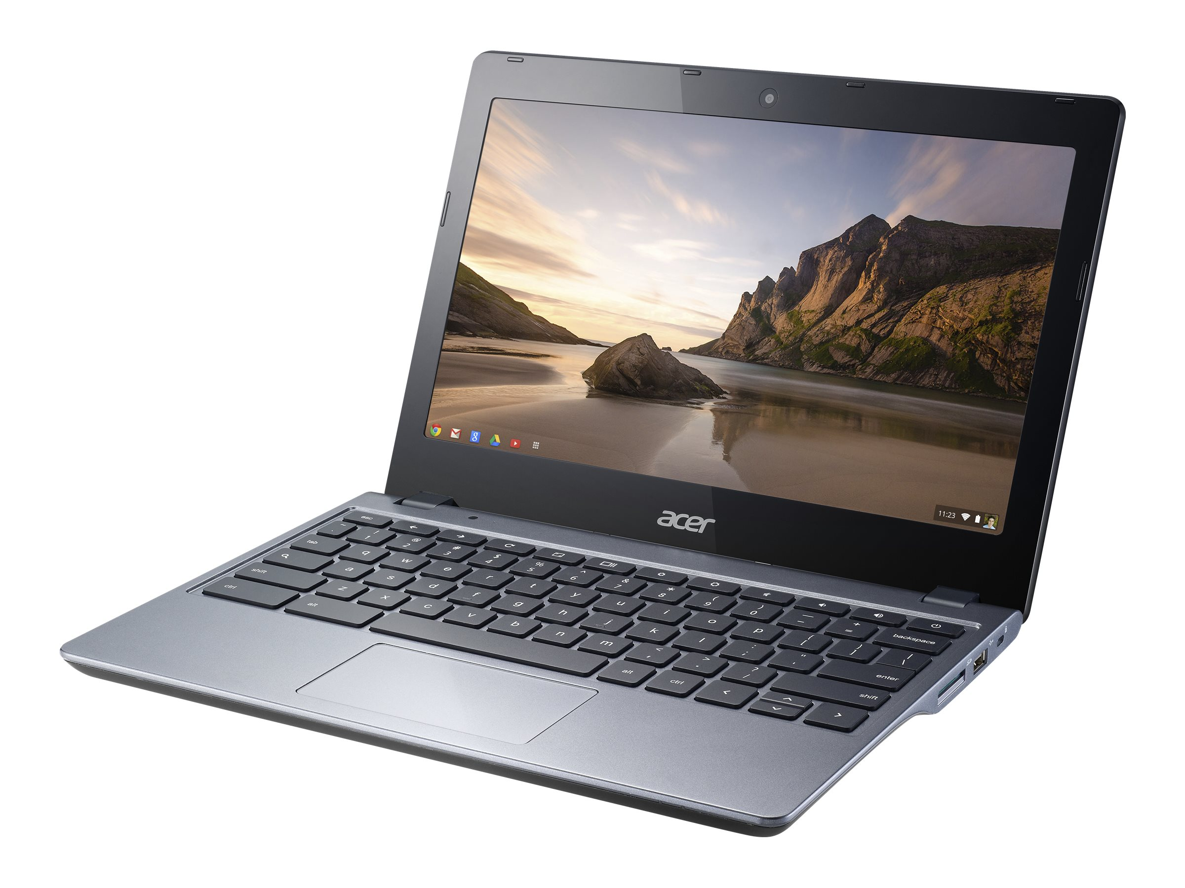 Acer Chromebook C720-3605 : 1.7GHz Core i3 11.6in display, NX.SHEAA.017, 17376207, Notebooks