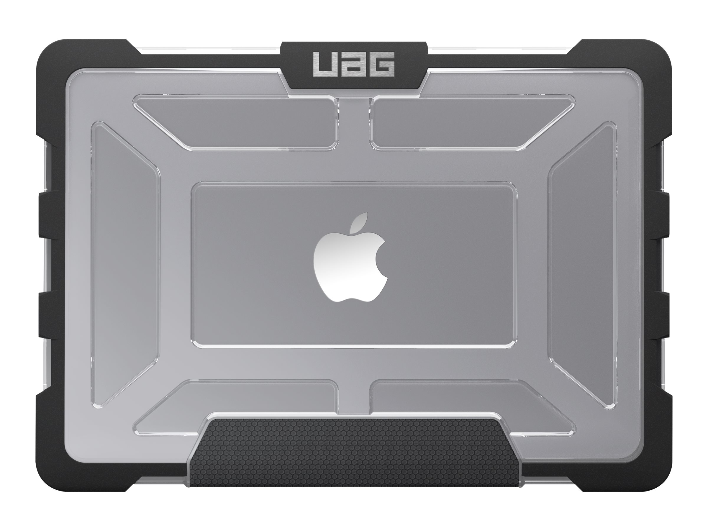 Urban Armor Case, Visual Packaging for Macbook Pro 15 Retina Display, Ice Black, MBP15-A1398-ICE