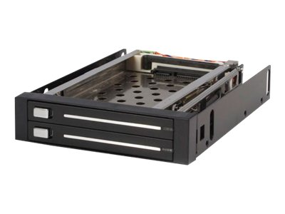 StarTech.com 2 Drive 2.5 Trayless Hot Swap SATA Mobile Rack Backplane