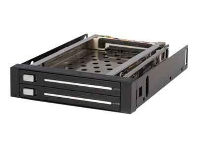 StarTech.com 2 Drive 2.5 Trayless Hot Swap SATA Mobile Rack Backplane, HSB220SAT25B, 14882905, Drive Mounting Hardware