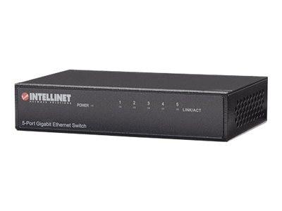 Intellinet 5-Port Gigabit Ethernet Switch, 530378, 15151776, Network Switches