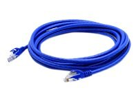 ACP-EP CAT6A Snagless Copper Booted Patch Cable, Blue, 3ft