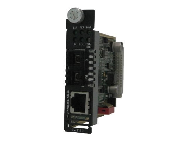 Perle CM 1110 S2SC10 10 100 1000 1000BLX 2SC 10K 1310NM, 05052630, 12731020, Network Transceivers