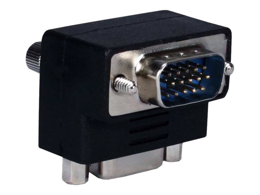 QVS VGA M F Down-Angle Video Adapter