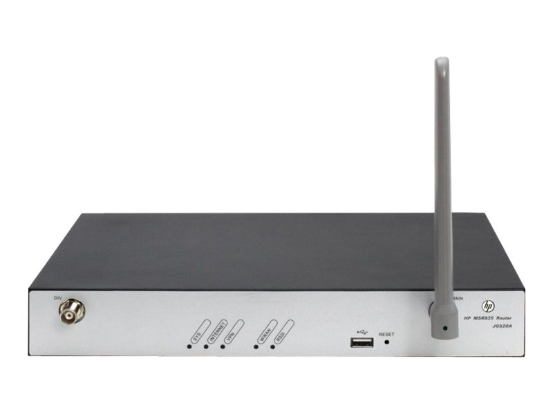 HPE MSR935 3G Router US English, JG520A#ABA, 16331779, Network Routers