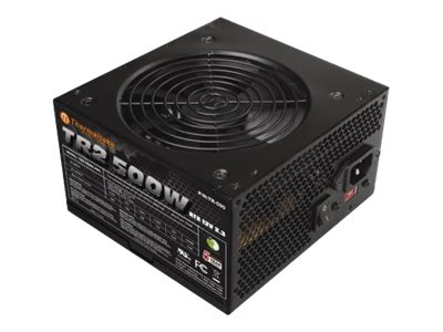 Thermaltake 500W Power Supply, TR-500, 13077111, Power Supply Units (internal)